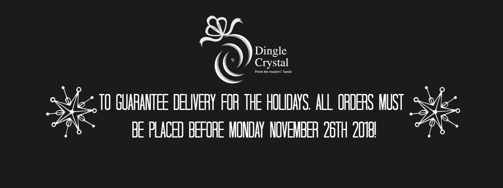 Holiday Orders 2018